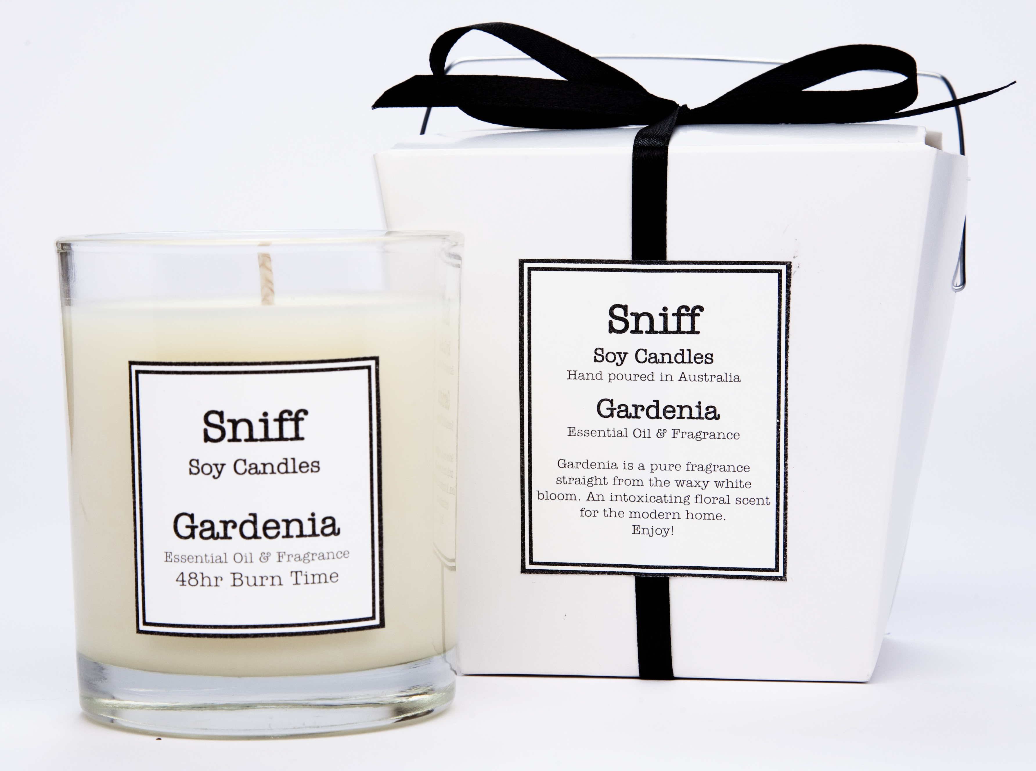 Gardenia candle – Sniff Soy Candles