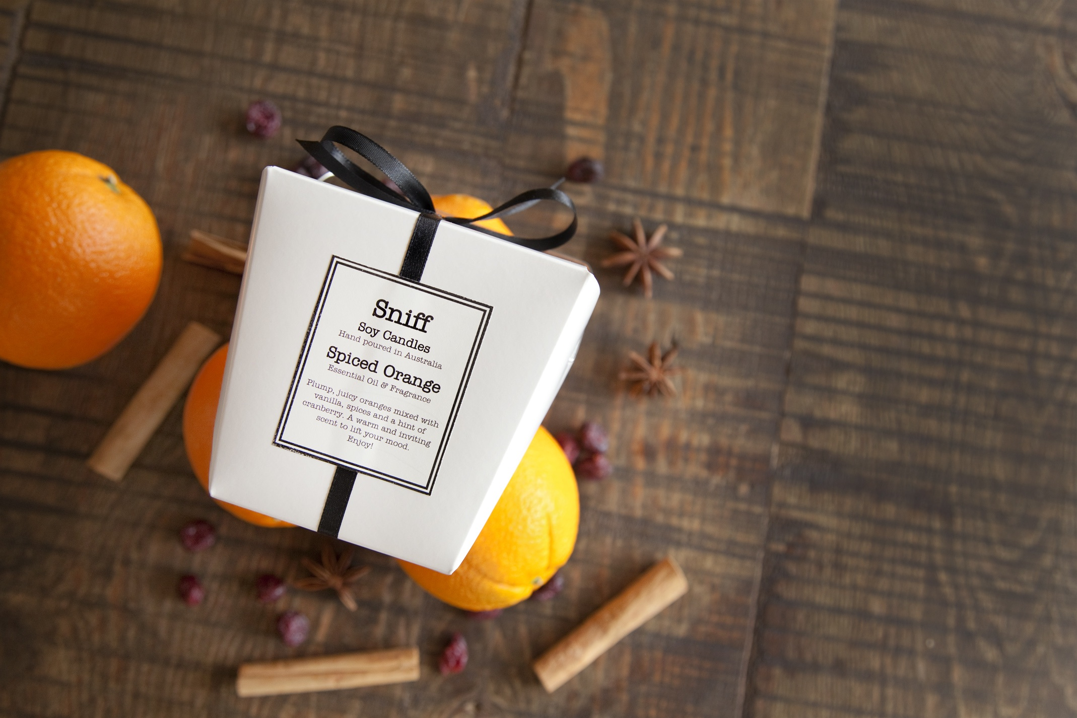Spiced Orange candle - box lo res