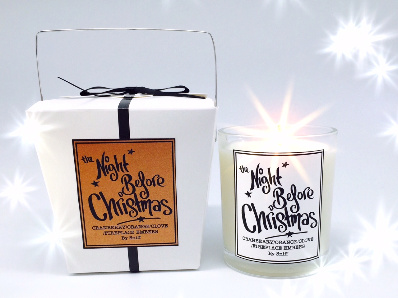 THE NIGHT BEFORE CHRISTMAS SNIFF CANDLE