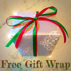 FREE GIFT WRAP AT SNIFF