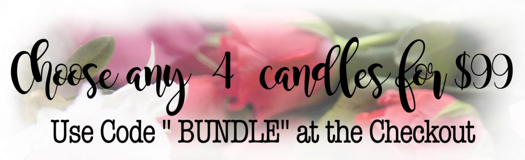 Choose any 4 candles for $99 Sniff Soy candles